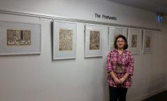 Персональная выставка Л.Башаровой в университете