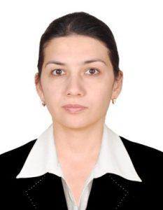 """Alimkulova D. R-       """"Tasviriy san'at tarixi va nazariyasi""""  kafedrasi katta o'qituvchisi c.f.f.d (PhD)"""